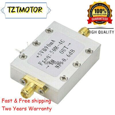 0.05-4ghz Broadband Amplifier Ultra Low Noise Amp Lna Module Input -110dbm Tzt