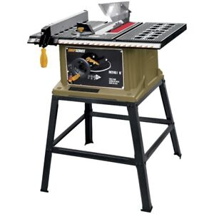 "SHOPSERIES 13 Amp 10"" Table Saw with Stand, New"