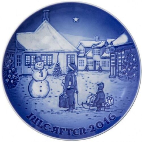 Bing & Grondahl 2016 Annual Christmas Plate HANS CHRISTIAN ANDERSEN HOME - NIB!