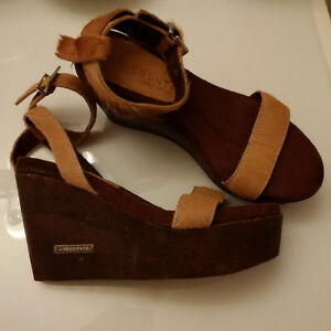 FS:  Women's Laocoonte Ankle Strap Wedge Sandals - NEW