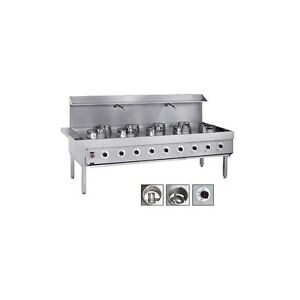 Chinese Wok Cooker 3 Burner For Commercial Restaurant Takeaway          DM08-3