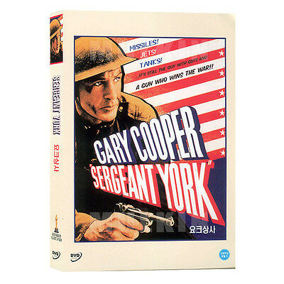 Sergeant York (1941) DVD - Howard Hawks, Gary Cooper (New *Sealed *All Region)