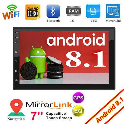 Wifi 5 Mp Gps (Android 8.1 AUTORADIO Navigation NAVI BLUETOOTH WIFI USB GPS 2DIN MP3 MP5 Player)