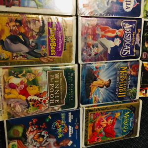 VHS classics and movies - 16 VHS movies and 6 DVD's $10