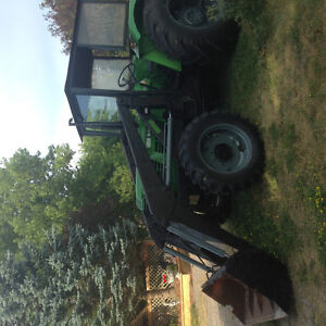 DEUTZ D6806,4WD,4 CYL,DIESEL TRACTOR WITH FREY LOADER  -AIR COOL Peterborough Peterborough Area image 4