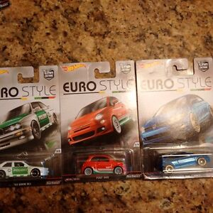 Hot wheels - Euro style, other misc. singles