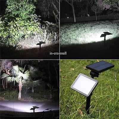 48 LED Waterproof Solar Powered Outdoor Garden Security Flood Light Spot Lamp