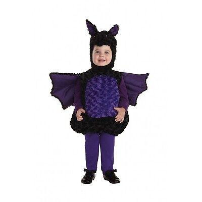 Underwraps Lila Fledermaus Bauch Babys Kleinkind Halloween Kostüm - Kleine Fledermaus Baby Kostüm