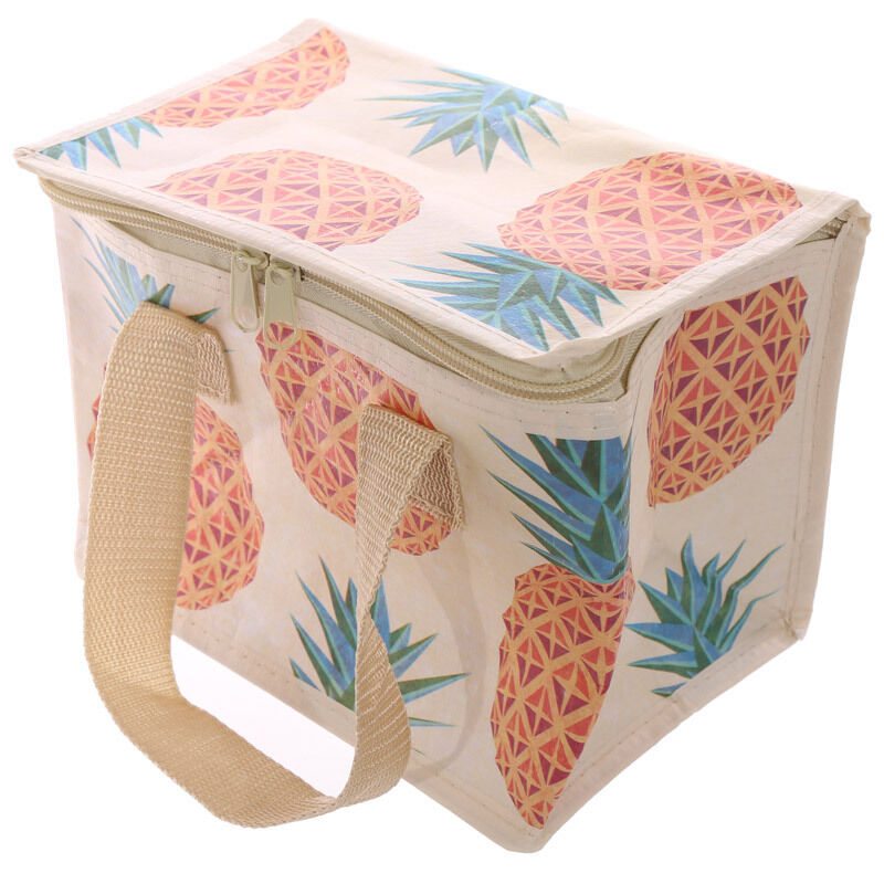 Tropical Pineapple Insulated Ladies Girls Lunch Box Cool Bag Picnic School