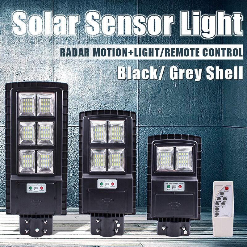 90/120W LED Solar Street Light PIR Motion Sensor Wall Outdoo