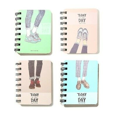 Mini Spiral Notebook (Shoe Mini Daily Office Supplies Planner Spiral Notebook Diary Notepad Memo)