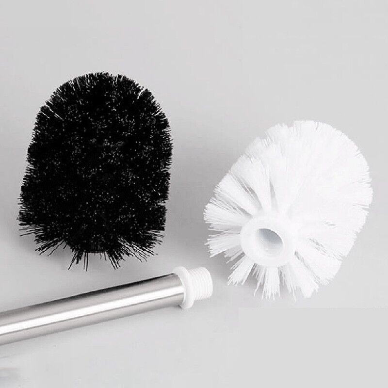 Universal Toilet Brush Head Holder Replacement Bathroom Plastic Cleaning Tool UK