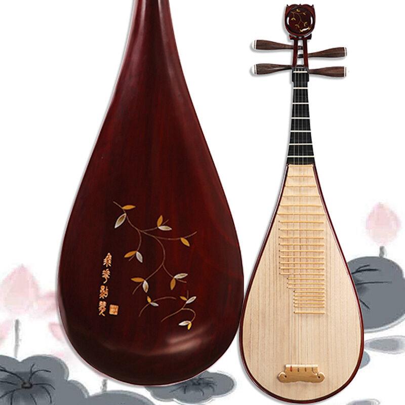High-quality YUEHAI Chinese Pipa Lute Guitar Musical Instrument Liuqin #4105
