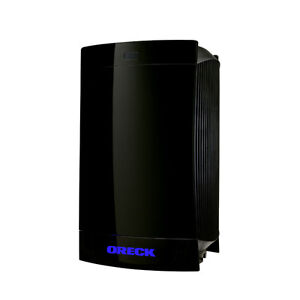 Oreck Dual Max Remote Controlled Air Purifier with Double Air Fl