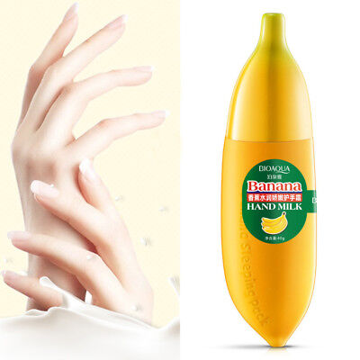 New Magic Banana Hand Milk Cream 40ml Moisturizing Skin Care Keep Hydrating