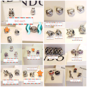Authentic Pandora Animal Theme Charms