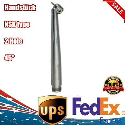 45 Degree Nsk Pana Max Style Surgical Dental High Speed Handpiece Push Button 2h