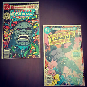 Justice League issue # 184 and 185. Darkseid key issues.
