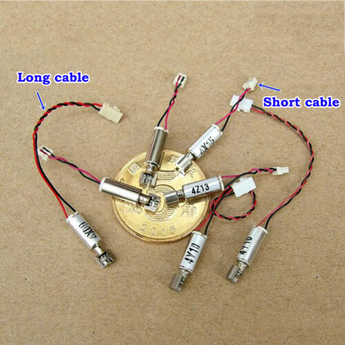 DC 3V 3.7V 4.2V Ultra Micro 3mm Coreless Vibration Vibrating Motor Vibrator DIY