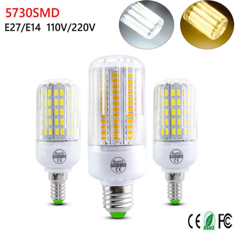 LED Corn Light Bulbs E14 E27 5730 SMD 110V 220V 7W 12W 15W 20W 35W Lamps Bright