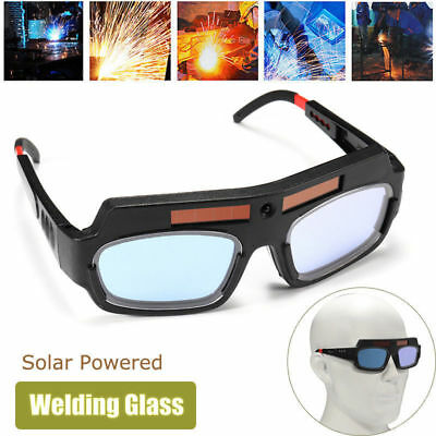 Solar Powered Auto Darkening Welding Mask Helmet Goggle Welder Glasses Arc New