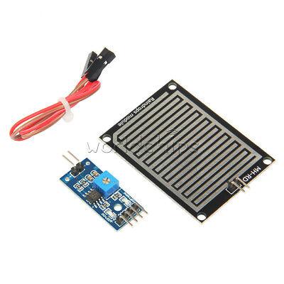 12510pcs Raindrops Rain Detection Sensor Weather Humidity Module For Arduino