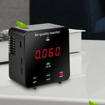 Co2 Meter Carbon Dioxide Detector Air Quality Monitor Hcho Tvoc Co2 Aqi Tester