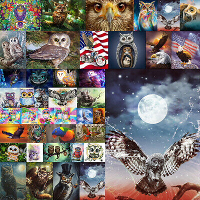 2020 5D Eagle People Full Drill Diamond Painting Cross Kits Embroidery Home