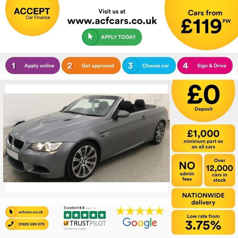 BMW 4.0 M3 FROM £119 PER WEEK!