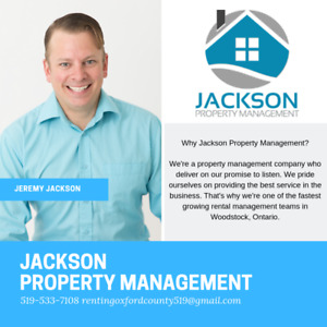 Leading Property Management Company in Woodstock!!