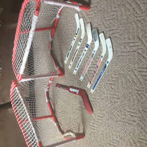 Mini sticks and net set
