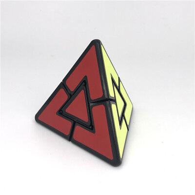 3d Pyramid Puzzle - 3D Tringle Circle Pyramid Magic Cube Twist Puzzle Toys Black Sticker OPP Packing