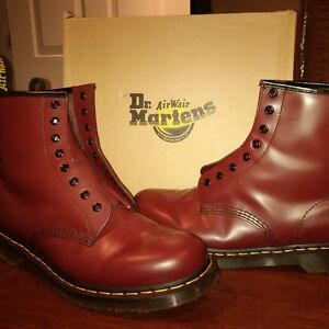 Dr. Martens 1460 Smooth Cherry Red BRAND NEW