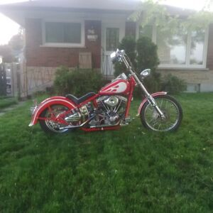 Custom Shovelhead in Elliot Lake