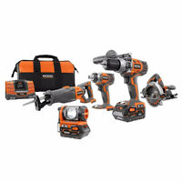 Ridgid R963 18-Volt X3 5-Piece Kit $300 OBO  *lightly used