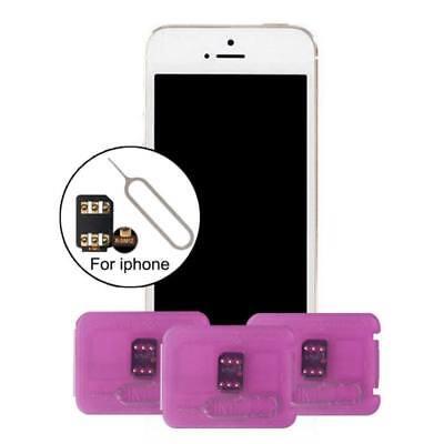RSIM 12+ R-SIM Nano Unlock Card Adapter iPhone X/8/7/6/6s/5S/ 4G iOS 10 11 12