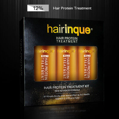 12% Brazilian Keratin 24K Gold Therapy Hair Protein Treatment Shampoo Care Set
