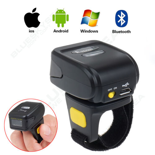 Wireless Bluetooth 2D Barcode Finger Ring Scanner 742x480 CM