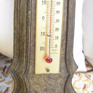 Pair of Vintage Fisher Barometers/Thermometers Made in France. Kitchener / Waterloo Kitchener Area image 9