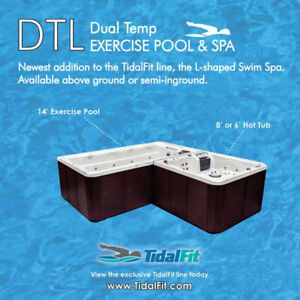 Get the Best of Worlds in a TidalFit Dual Temp Swim Spa on Sale
