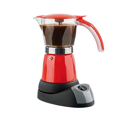 GOURMETmaxx Espresso Kocher elektrisch kabellos Kaffee Maschine Espresso rot online kaufen