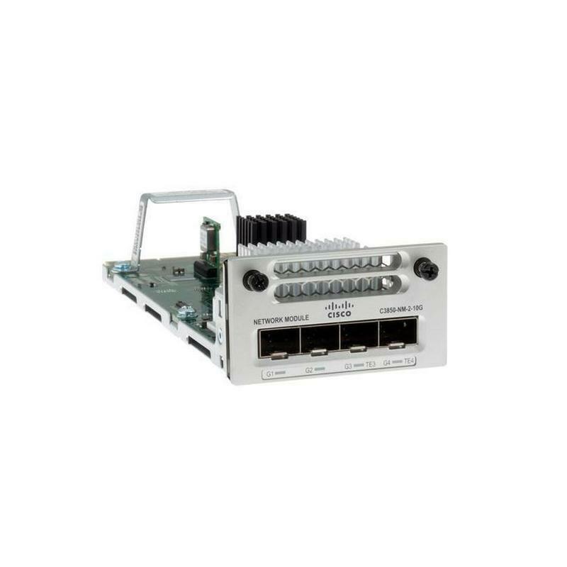 Cisco - C3850-NM-2-10G - 2X1G/2X10G SFP NETWORK MODULE