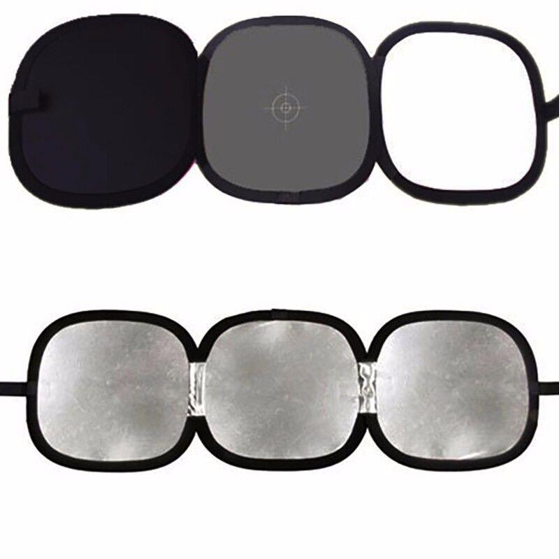 "Photo Studio 12"" Collapsible Disc Tri-Fold Reflector Gray Card White Balance"