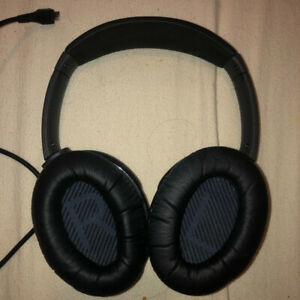 Bose wireless noise cancelling headphones