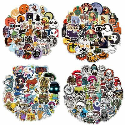 10pcs halloween stickers transfer decals paper nail