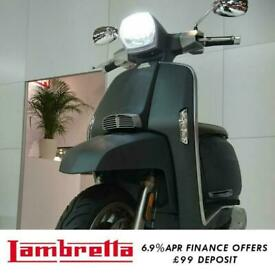 Lambretta V 200cc Special Modern Classic Retro Automatic Scooter Moped For Sa...