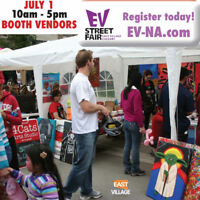 BOOTH VENDORS WANTED  East Village Festival Canada Day