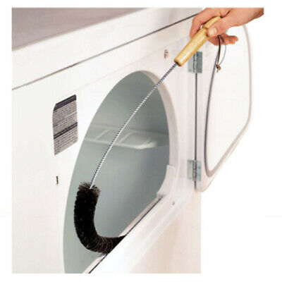 CLOTHES DRYER Lint Vent Trap Cleaner Brush gas electric Fire Prevention Bottle (Clothes Dryer Vent Brush)