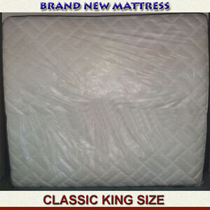 BRAND NEW KING SIZE CLASSIC MATTRESS - REASONABLY PRICED
