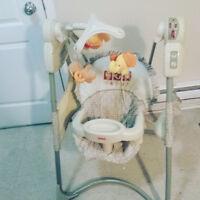 Baby rocker/swing